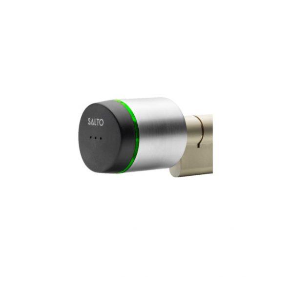 SALTO XS4 GEO cilinder dubbel gecontroleerd kop zijaanzicht
