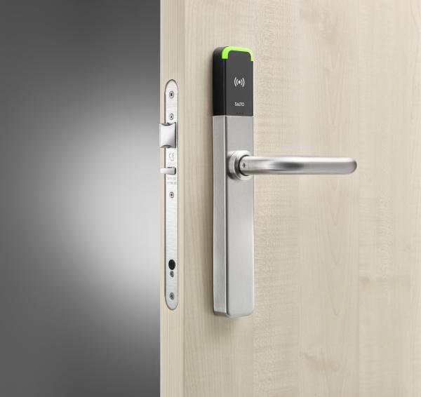 SALTO XS4 2.0 ONE Privacy Beslag zwart in deur