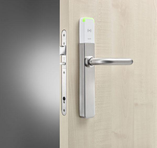 SALTO XS4 2.0 ONE Privacy Beslag wit in deur