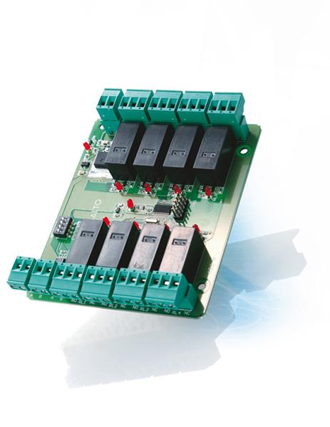 Salto XS4 2.0 Controller uitbreidingsmodule 8 relais