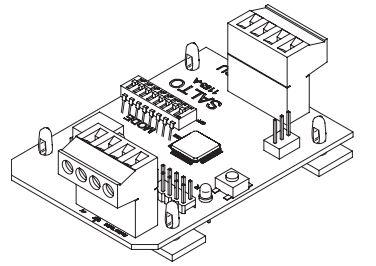 SALTO XS4 Original Adapter tekening