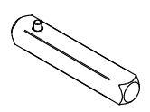 SALTO XS4 Locker krukstift