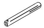 SALTO XS4 Mini krukstift tekening