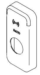 SALTO XS4 Mini Afdekkap tekening