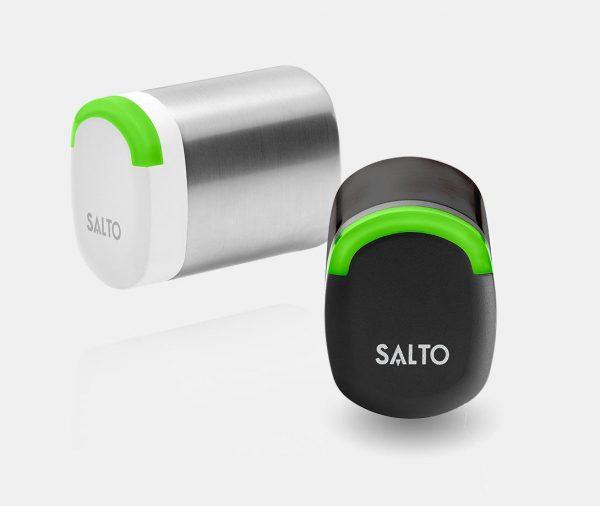 SALTO Neo cilinder losse kop wit en zwart