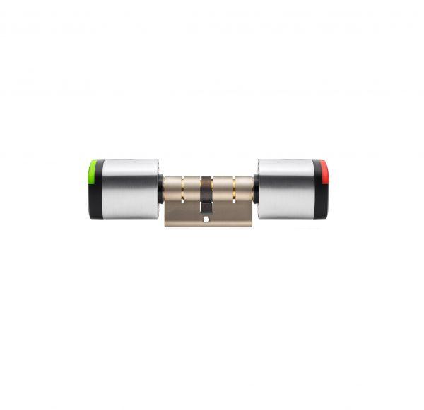 SALTO Neo cilinder zijaanzicht groen rood