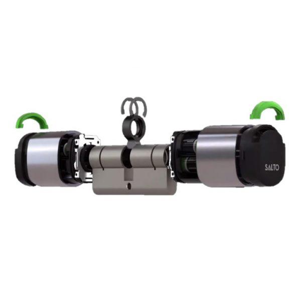 SALTO Neo cilinder blow-up dubbel gecontroleerd